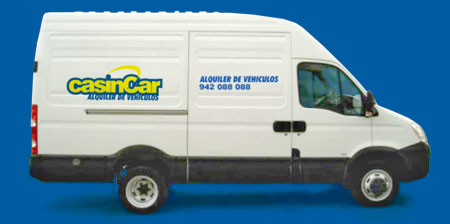Alquiler de Furgonetas - Casin Car